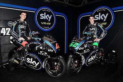 Fotogallery: presentazione Sky Racing Team VR46 Moto2 e Moto3