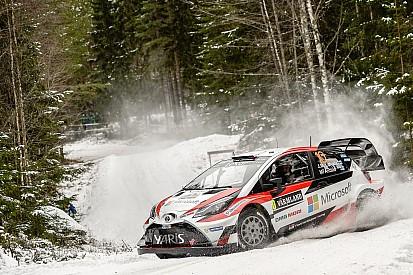 【WRC】トヨタのラトバラ、第2戦スウェーデンを首位発進
