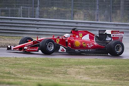 维特尔雨胎测试撞车收场