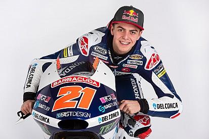 Tes Moto3: Di Giannantonio cedera patah tulang selangka
