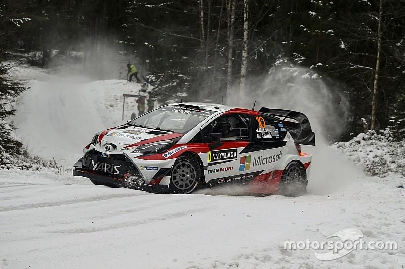WRC in Schweden: Latvala weiterhin an der Spitze