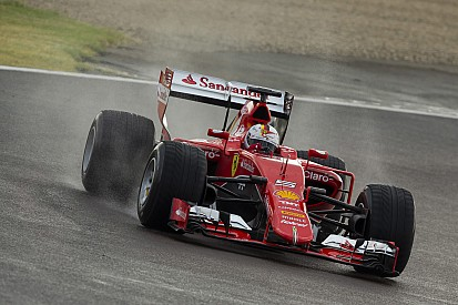 Imbas kecelakaan Vettel, Ferrari batalkan tes ban basah Pirelli