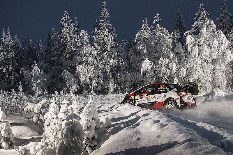 Latvala lidera en Suecia por problemas de Neuville