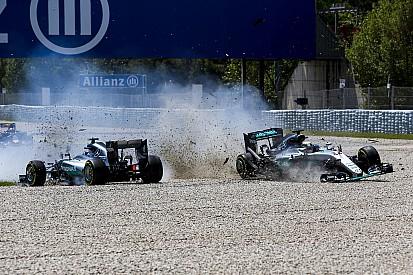 """Rosberg: """"Fui más agresivo porque Hamilton me aplastaba"""""""