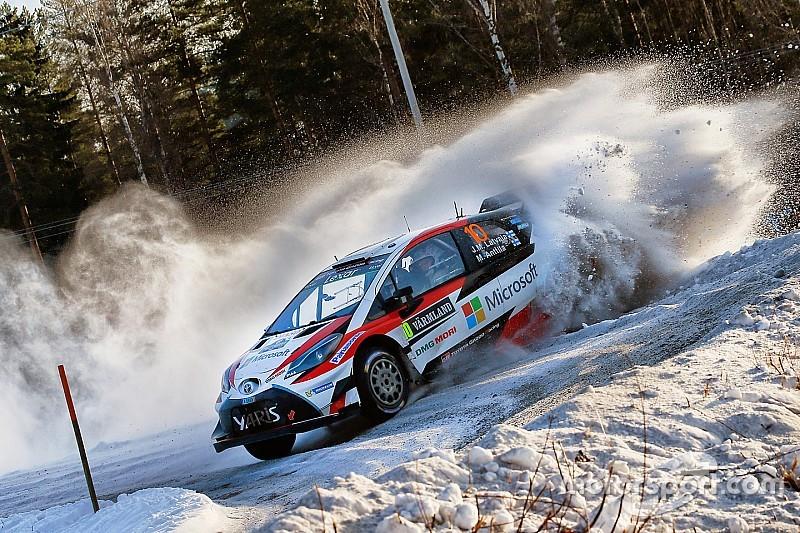 WRC in Schweden: 1. Toyota-Sieg in der Rallye-WM seit 1999