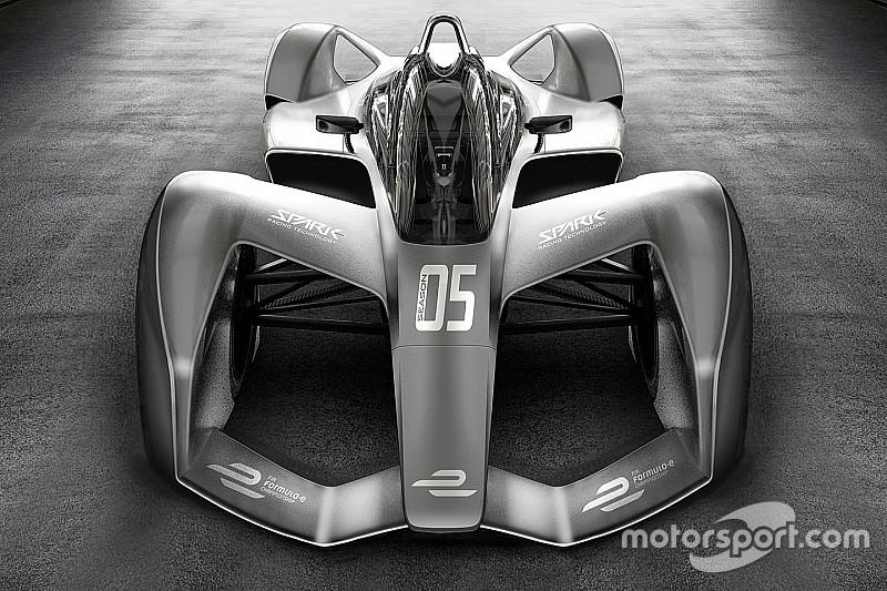 Spark présente un concept de la future Formule E