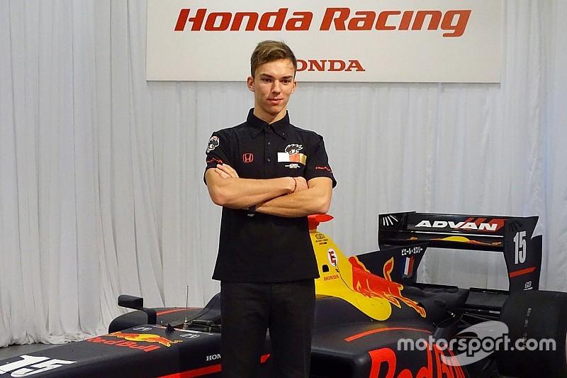Gasly, confirmado con Mugen para la temporada 2017 de la Super Fórmula