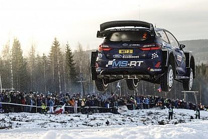 Foto's: De spectaculairste sprongen uit de Rally van Zweden