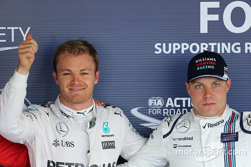"""Rosberg: """"Ik ga Bottas geen geheimen over Hamilton vertellen"""""""