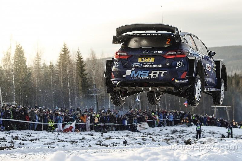 معرض الصور: أجمل القفزات من رالي السويد