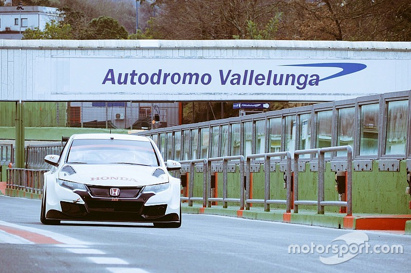 Honda lime la piste à Vallelunga, Michigami s'affûte