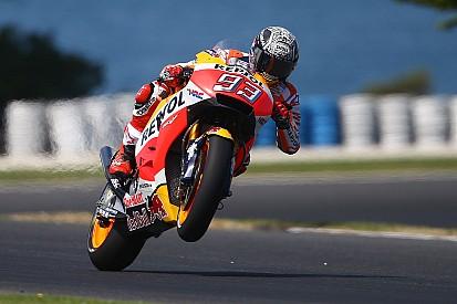 【MotoGP】豪テスト初日:マルケスがトップタイム。ロッシが続く