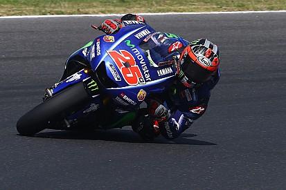 Devancé par Rossi, Viñales reste optimiste pour la suite des essais