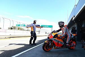 MotoGP Новость Маркес удивился лидерству на тестах