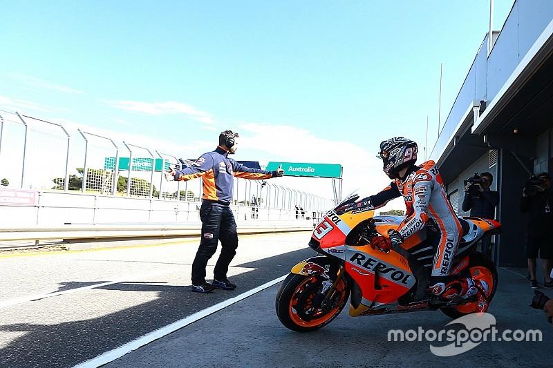 """【MotoGP】マルケス、トップ記録も「電子制御にまだ""""何か""""足りない」"""