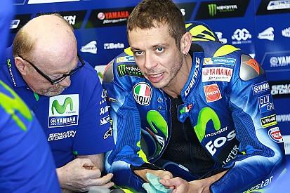 """Rossi pense avoir """"pris la mauvaise direction"""" aujourd'hui"""