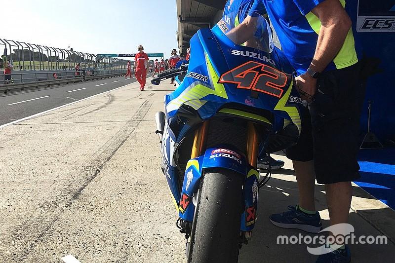 """【MotoGP】スズキとアプリリアも""""隠しウイング""""フェアリングをテスト"""