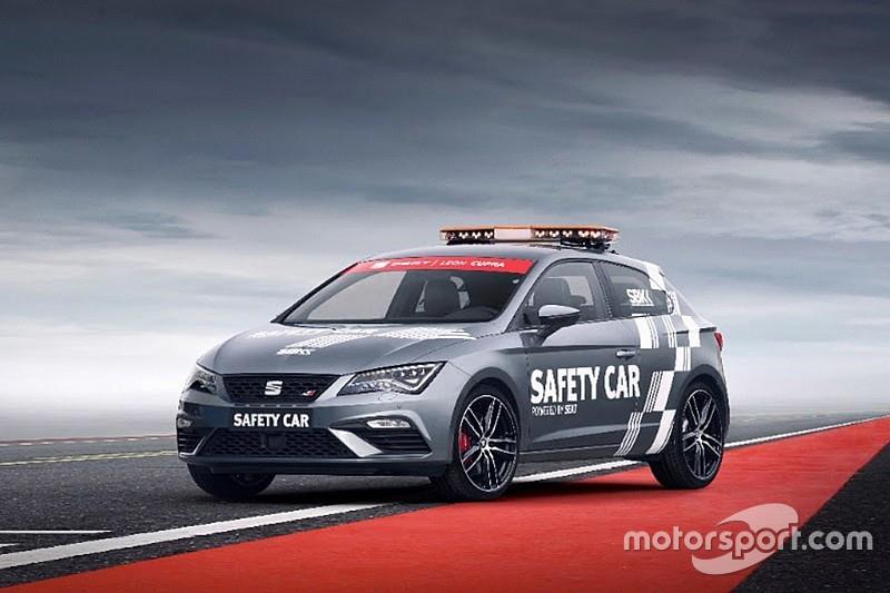 La SEAT Leon Cupra nouveau Safety Car du WSBK