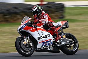 "MotoGP 速報ニュース 【MotoGP】ドゥカティ適応苦戦ロレンソ「""突破口""を探している」"