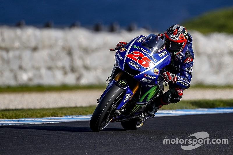 Viñales opnieuw bovenaan in MotoGP-test Phillip Island
