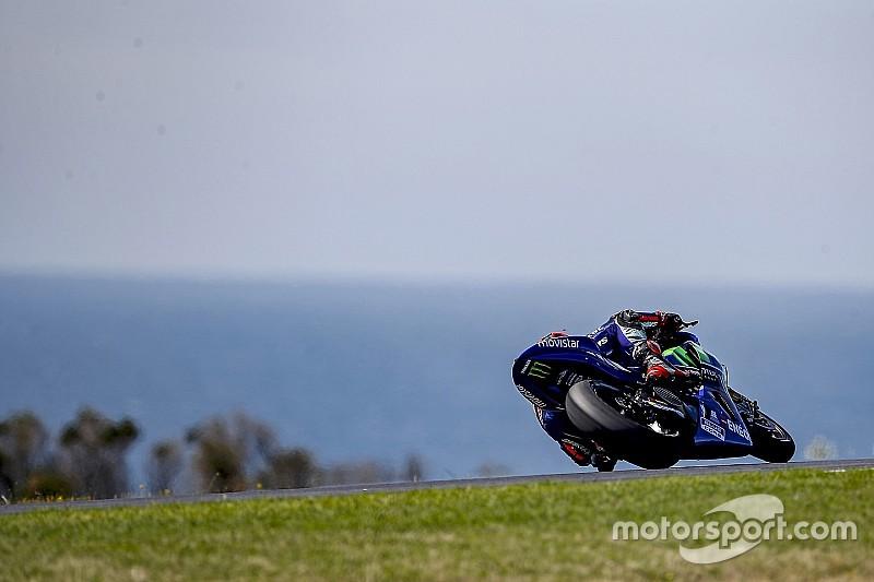 MotoGP-test Australië: De uitslag in foto's