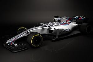 【F1】ウイリアムズ、2017年用マシンFW40の画像を公開