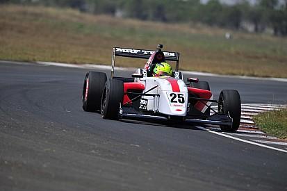 Schumacher lidera las prácticas del MRF Challenge en India