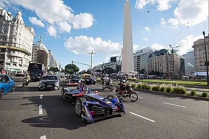 Vídeo: Un Fórmula E por las calles de Buenos Aires