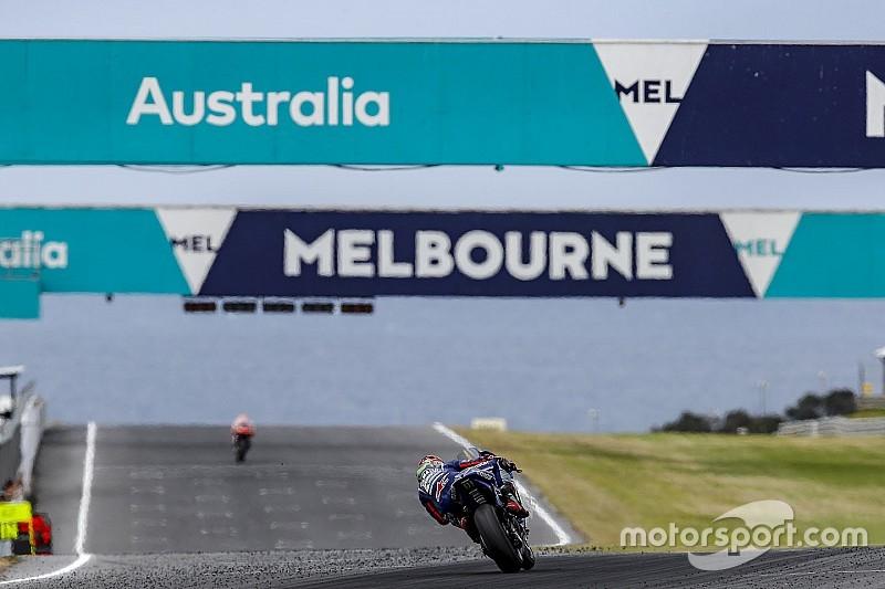 Galería: Viñales confirmó su candidatura en los test de Australia