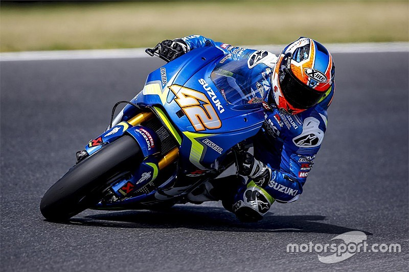 Rins voelt zich na testweek Phillip Island 'een echte MotoGP-rijder'