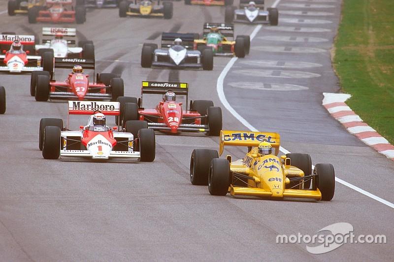 Galería: Así era la Fórmula 1 en la temporada 1987