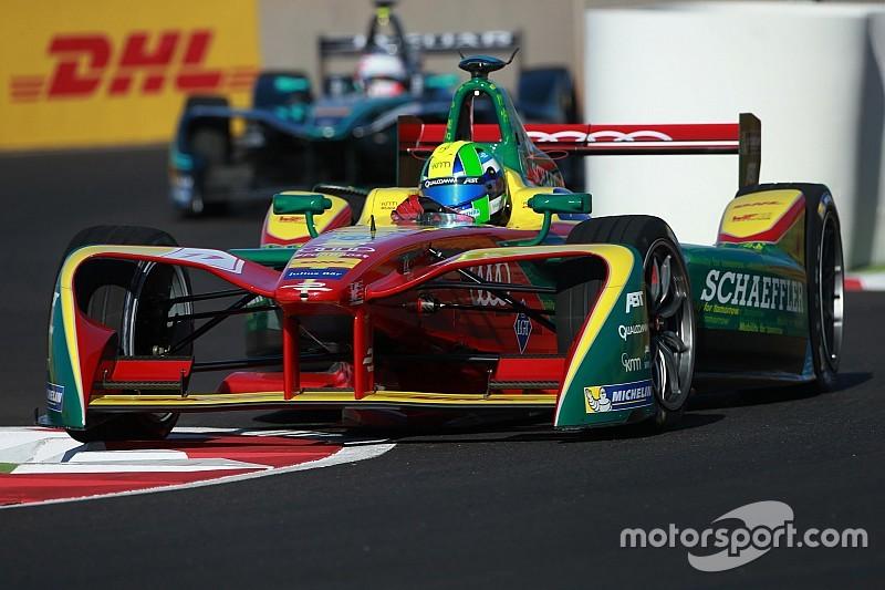 Formel E in Buenos Aires: Unfall von Lucas di Grassi in Training 2