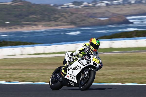MotoGP Réactions Bautista en mal de sensations avec sa GP16