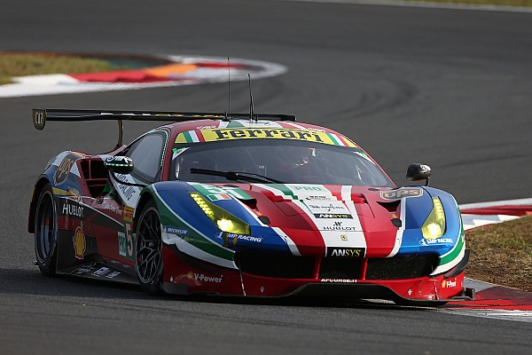 Pier Guidi ersetzt Gianmaria Bruni bei Ferrari in der WEC