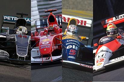Galería: los coches más victoriosos de la historia de la Fórmula 1