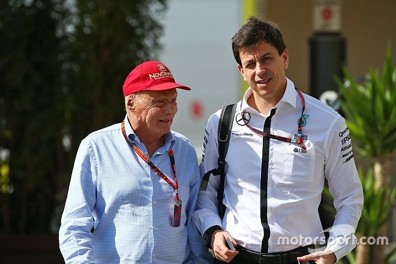 Wolff et Lauda prolongent chez Mercedes
