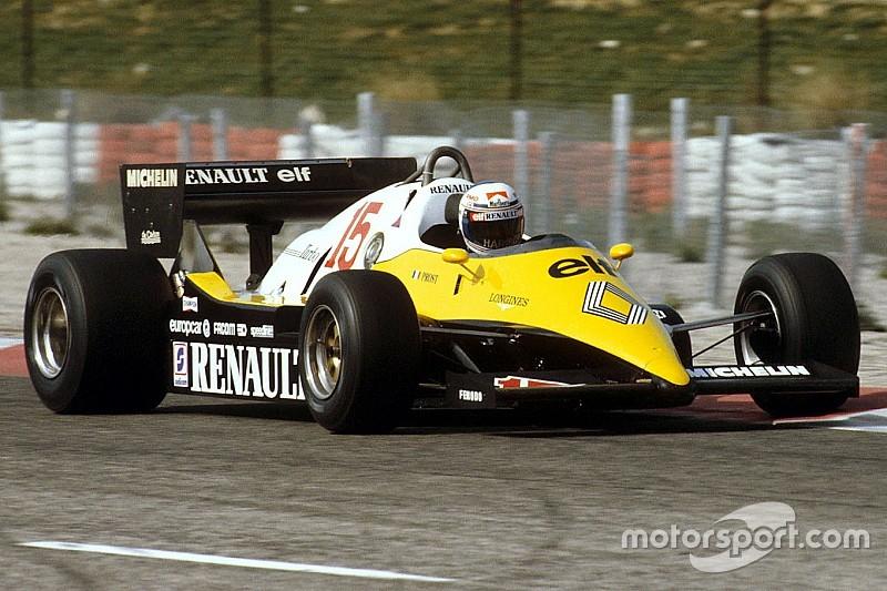 Retro: Alle Formule 1-wagens van Renault sinds 1977
