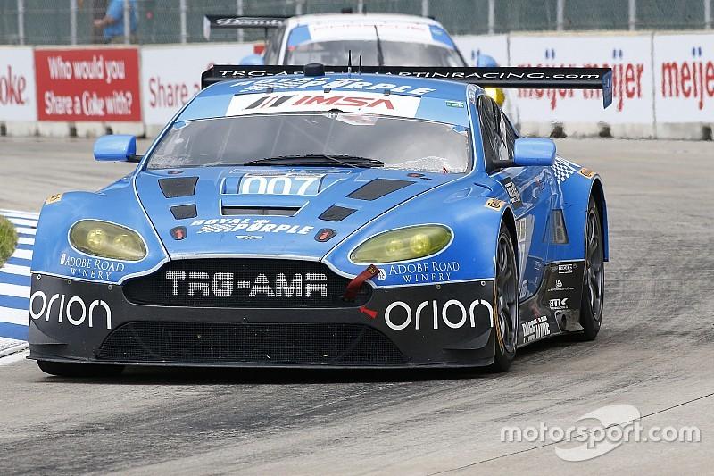Davison returns to TRG Aston Martin at St. Petersburg