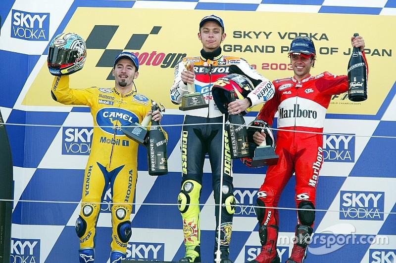 """Rossi: """"O adversário que mais me deu raiva foi Biaggi"""""""