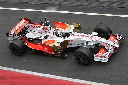 GALERIA: Veja todos os carros da Force India desde 2008