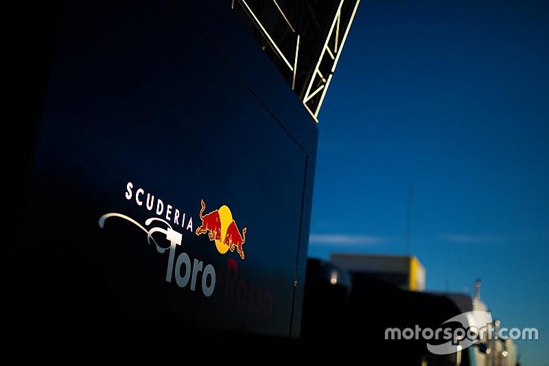 Le moteur Renault écourte le shakedown de Toro Rosso