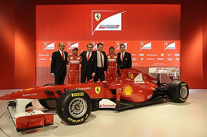 Rückblick: Alle Ferrari-Präsentationen in der Formel 1 seit 2007