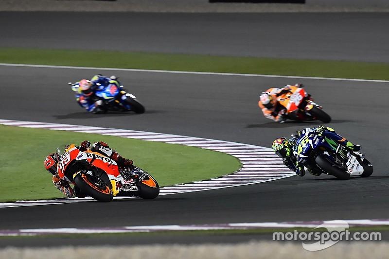 MotoGP-coureurs laten zich sceptisch uit over mogelijke regenrace in Qatar