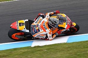 MotoGP Nieuws Schouder uit de kom voor Marquez door crash tijdens privétest Honda