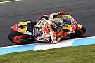 Schouder uit de kom voor Marquez door crash tijdens privétest Honda