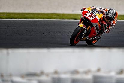 Lussazione della spalla per Marquez durante un test privato a Jerez