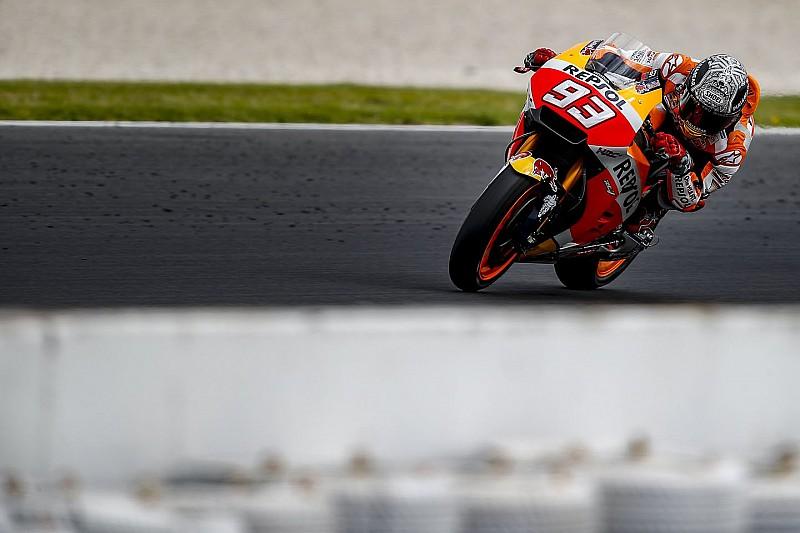 Márquez desloca ombro em treino privado em Jerez
