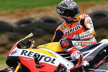 MotoGP: Marquez kificamította a vállát tesztelés közben!