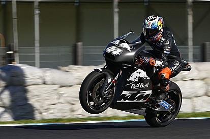 KTM a créé la surprise lors des essais de départ