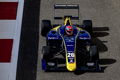 F1-junioren voeren GP3 line-up DAMS aan